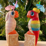 We Need These Jose and Rosita Tiki Mugs In Our Tropical Hideaway!