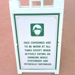 PHOTOS: Updated Face Mask Policy Signs Arrive in Disney World