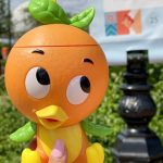 90s Babies Will LOVE This NEW Orange Bird Keychain From Disney World