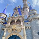 You've GOT to See the Bizarre Paint-By-Number on Cinderella Castle in Disney World Right Now