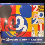 Spotted: A NEW 2020-2021 Calendar Is Now Available in Disney World