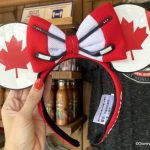 PHOTOS: We Spotted a TON of New Canada Merch at EPCOT Today!