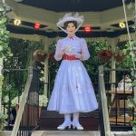 Fun NEWS and Photos! Mary Poppins and Alice in Wonderland are Back in EPCOT and We Got To CHAT!