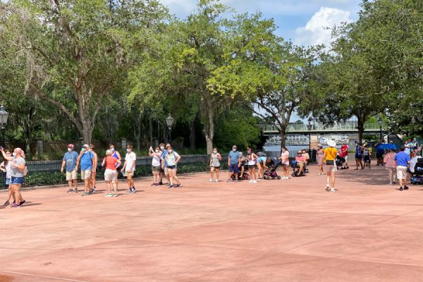 PHOTOS: Grand Reopening Crowds at EPCOT in Disney World
