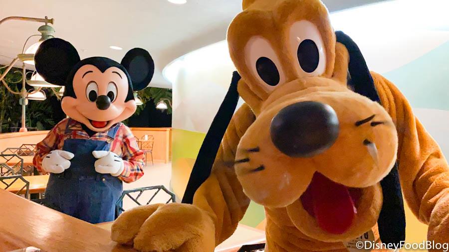 Disney World Character Meals The Disney Food Blog