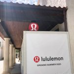 Construction Update! The lululemon Sign is Now Up at Disney Springs!