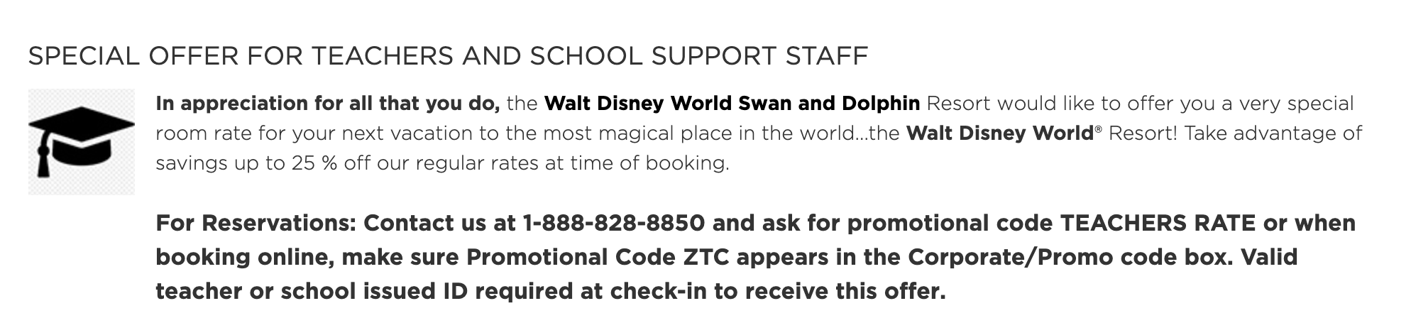 The Disney World Swan And Dolphin Resort Has Special Offers For Nurses And Teachers The Disney Food Blog
