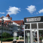 MORE Photos of the Newly Opened Disney World NBA Bubble Barbershop
