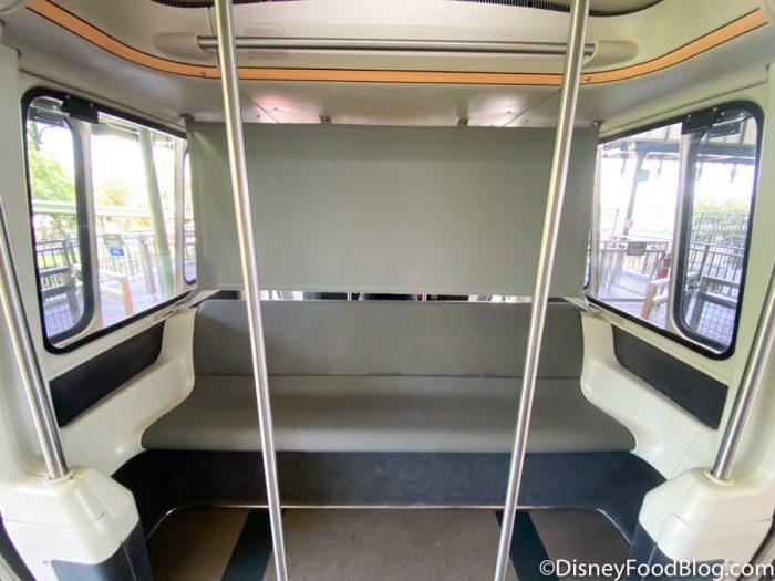 PHOTOS: Monorail Peach Has a NEW Look in Disney World!