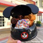 Oh Boy! We Just Found CHOCOLATE Mickey Waffles In This NEW Sundae in Disney World!