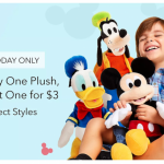 A Buy One Get One Disney Plush For $3 DEAL Is Happening Online, But Only For TODAY!