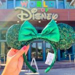 HURRY! Disney's Emerald Minnie Ears Are Now Available Online!
