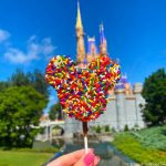 REVIEW: We're Snackin' on a Super Colorful Mickey Marshmallow Wand in Disney World!