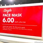 NEWS: Extra Large Disney Face Masks Finally Spotted in Disney World…But No More Discounts?
