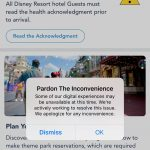 If Your Disney World App is Weird Right Now, You're Not The Only One!
