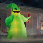 You've Gotta Check Out These Incredible Disney Halloween Inflatables (Including a 10 FOOT TALL Oogie Boogie!)