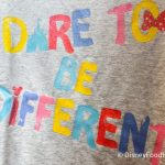 """""""Dare to Be Different"""" With This Adorable New Youth Tee We Spotted in Disney World!"""