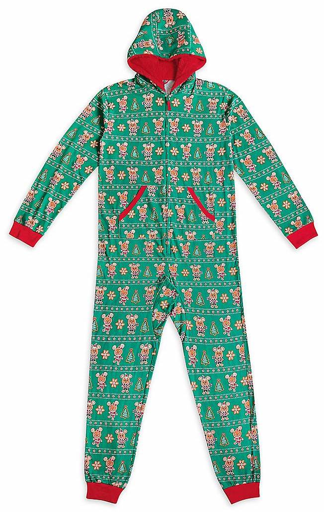 Mickey Mouse Christmas Lights Onesie