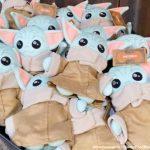 NEWS! A New HOMESPUN Baby Yoda Plush Has Made His Debut in Disney World's Galaxy's Edge!