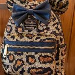 A New Leopard Print Loungefly Backpack Has Been SPOTTED at Disney's Animal Kingdom!