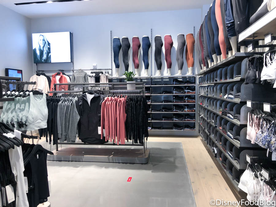 First Look Lululemon Has Officially Opened In Disney World The Disney Food Blog