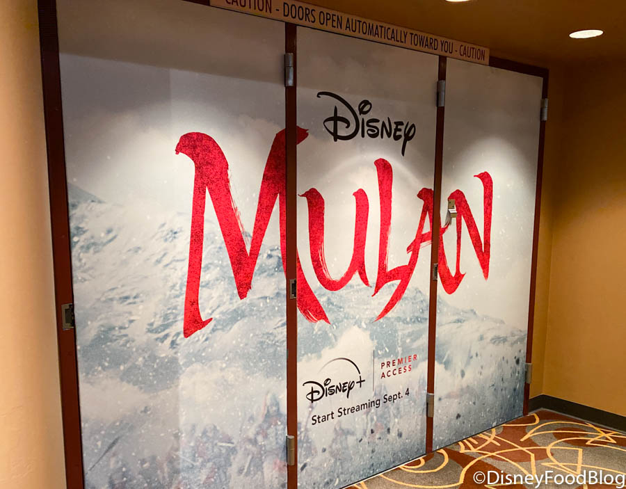 PHOTOS: The 'Mulan' Preview Has Opened in Disney's Hollywood Studios | the  disney food blog