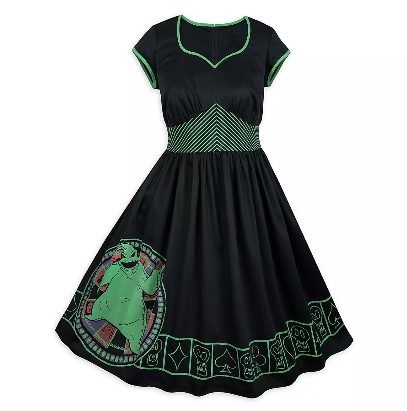 Disney Running Foolish Mortal Pattern Dress Disney Dresses for Women Magic Kingdom Dress Haunted Mansion Costume Disney Halloween Dress