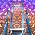 Watch a Behind-The-Scenes Video of The New Pylons Being Placed at EPCOT in Disney World!
