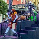 PHOTOS AND VIDEO: What's This? Jack And Sally Had Costume Updates Today At Disney World!