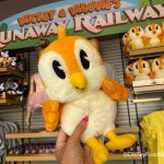 News! The Mickey and Minnie's Runaway Railway Chuuby Plush and Keychain are Back in Stock at Disney's Hollywood Studios!