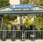 PHOTOS: A Parking Self Pay Station Has Been Installed at Disneyland Resort's Simba Lot