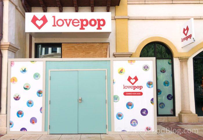 Lovepop Storefront at Disney Springs