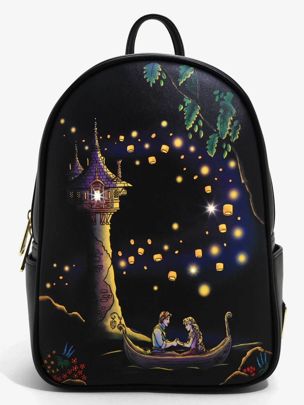 Wow A Light Up Tangled Loungefly Is Now Available For Pre Order Online The Disney Food Blog