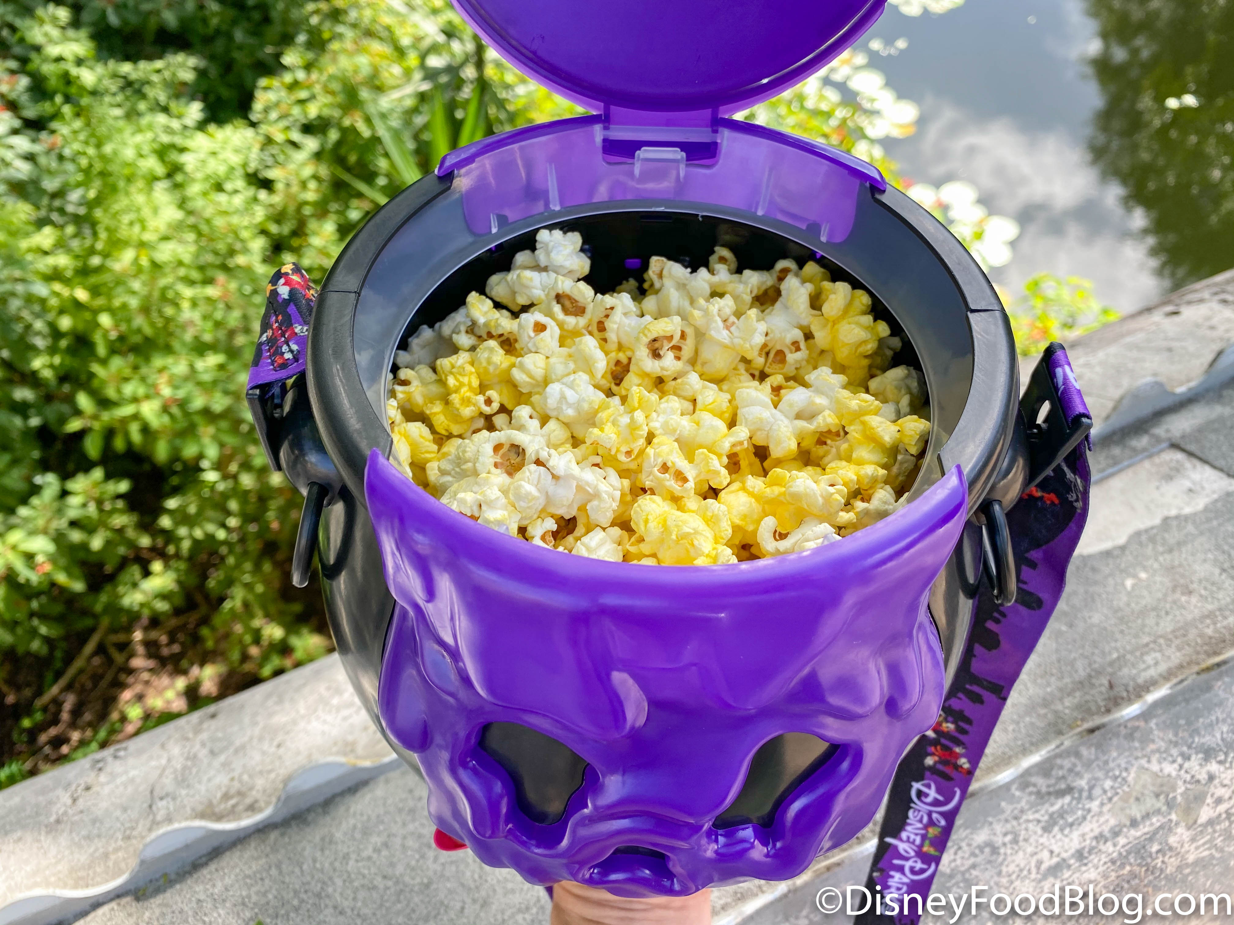 We Re Popping For Joy The First Halloween Popcorn Bucket Of 2020 Has Arrived In Disney World The Disney Food Blog