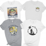 Hold On To Your Chicky Nuggies! These Hysterical Baby Yoda Tees Are Available for a Limited Time!