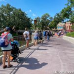 One of the Longest Lines in Disney World Today Was NOT for a Ride!