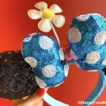 These Blue Polka Dot Minnie Ears in Disney World Have a NEW Look!