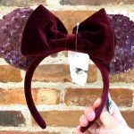 The NEW Frosted Berry Minnie Ears Have Arrived in Disneyland!