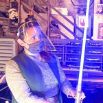 PHOTOS and VIDEO: The Color-Changing Ahsoka Tano Lightsaber Has Arrived in Disney World!