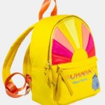 This Bright Yellow Stitch Backpack From Danielle Nicole Could Never Be Left Behind!