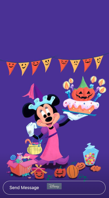 Disney S Halloween Wallpapers Giphy Stickers Will Add Some Spooky Fun To Your Devices The Disney Food Blog