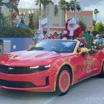 Video: Watch Santa Ride in STYLE in Disney's Hollywood Studios!