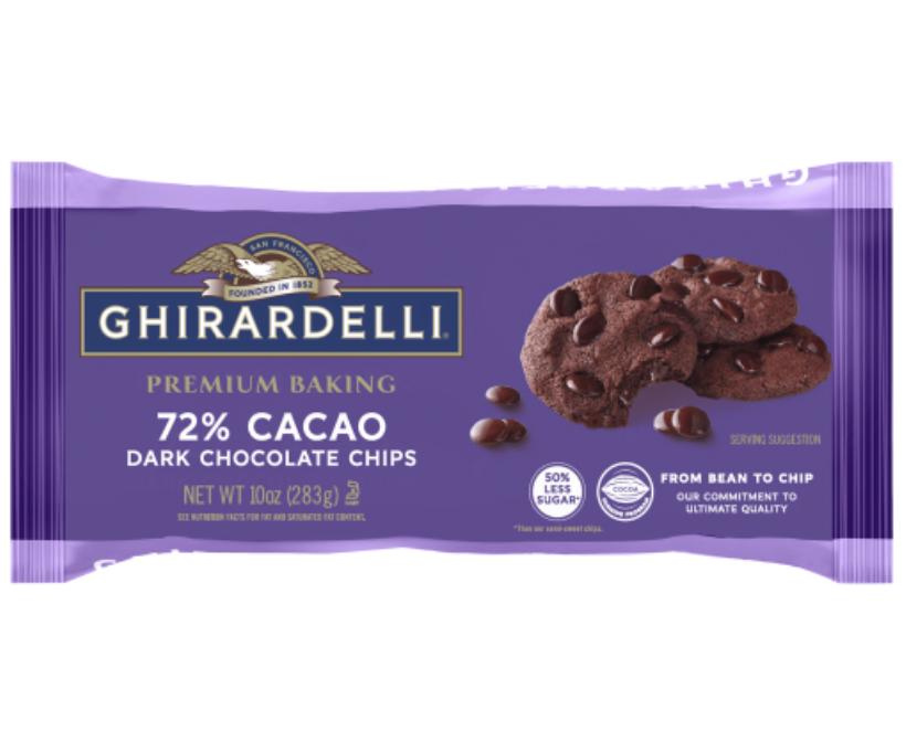 Ghirardelli Grand Chocolate Chip Cookie Recipe