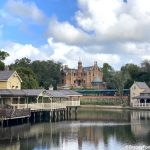 PHOTOS and VIDEO: Check Out the Rivers of America in Magic Kingdom Completely DRAINED!