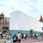 """PHOTOS: Huge Construction Walls Are Up Around """"it's a small world"""" in Disney World!"""