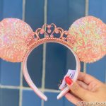 PHOTOS: NEW Peachy Queen Minnie Ears Have Arrived in Disney World!