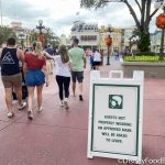 Photos: Disney World's Super-Strict NEW Face Mask Signage Warns Guests To Wear Masks Properly or LEAVE.