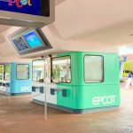 Pics! EPCOT Ticket Booths Are Looking NICE With the Newly Added Logos!