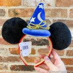 Disney's ICONIC Sorcerer Mickey Ears Are Now Available Online!