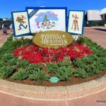 PHOTOS: A New Sign is UP for the 2020 Taste of EPCOT International Festival of the Holidays!